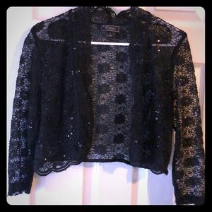 Beautiful sparkly lacy shrug
